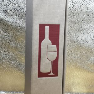 Scatola Vuota argento 1 bottiglia