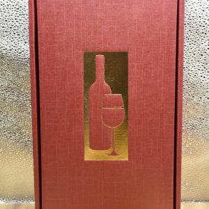 Scatola Vuota rossa 2 bottiglie