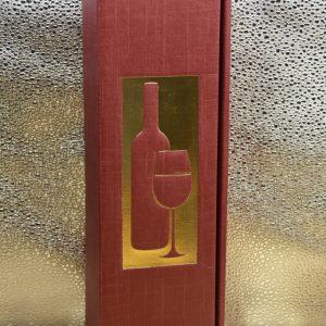 Scatola Vuota rossa 1 bottiglia