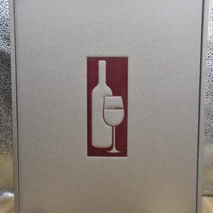 Scatola Vuota argento 3 bottiglie