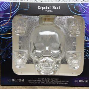 Vodka Crystal Head Set