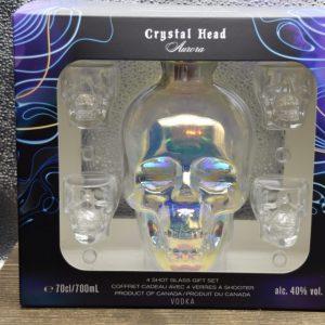 Crystal Head Aurora Set