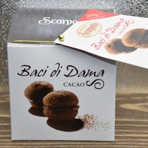 Baci di Dama al Cacao